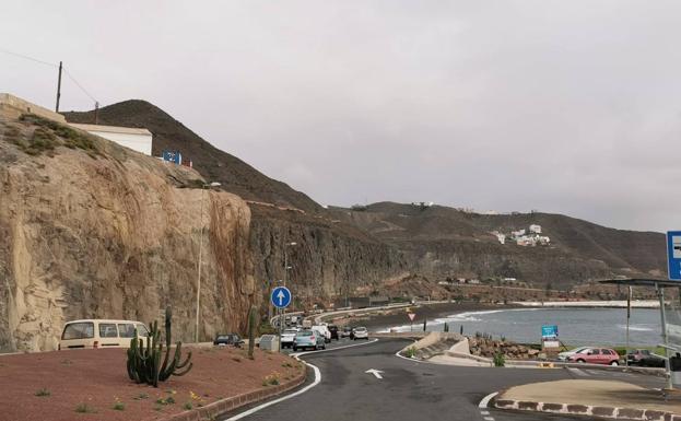 La capital de Gran Canaria con la clásica panza de burro.  / arcadio suarez