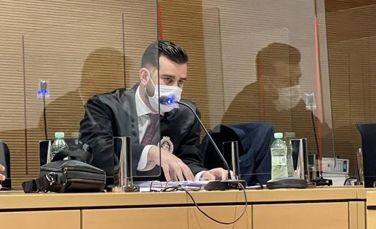 Defense attorney Roque Esteban García Aguiar.  / FJF